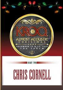 chris cornell live at kroq almost acoustic christmas 2015 - Kroq Christmas